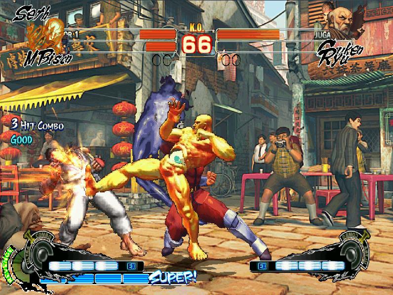 ULTRA STREET FIGHTER IV MUGEN 3D EDITION