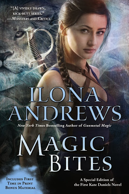 Sarah's Reviews: Book Summary: Magic Bites (Kate Daniels, Book 1), By Ilona Andrews