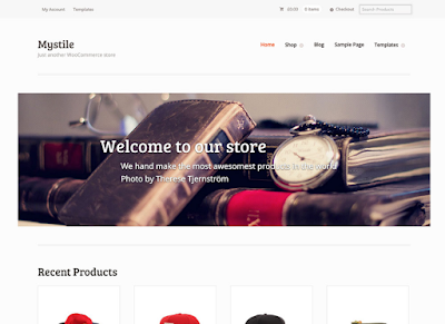 Mystile Wordpress Ecommerce Theme Free Download