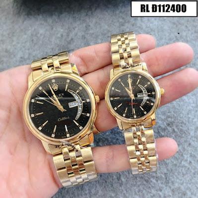 Đồng hồ cặp đôi đẹp nhất RL Đ112400