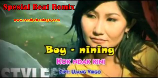 Lirik Dan MP3  Lagu Boy Sandy & Nining - Kok Indak Kini ( Remix Beat Spesial 2016 )