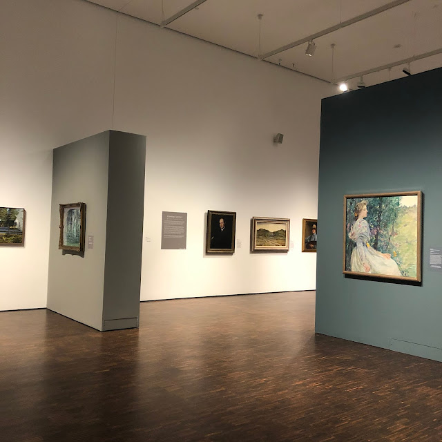 Wandering the galleries of the Figge Art Museum admiring an interesting variety of artwork.