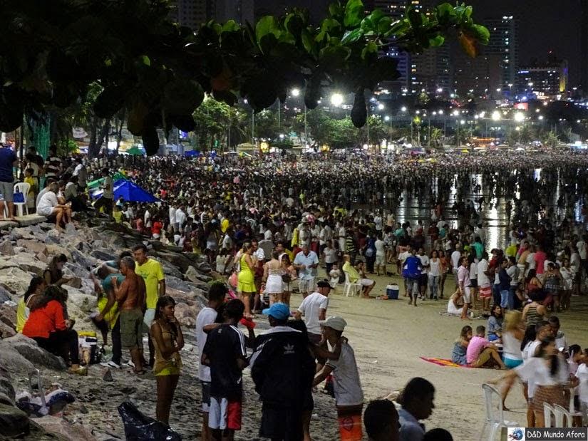 Reveillon em Ponta Negra - Natal - Rio Grande do Norte