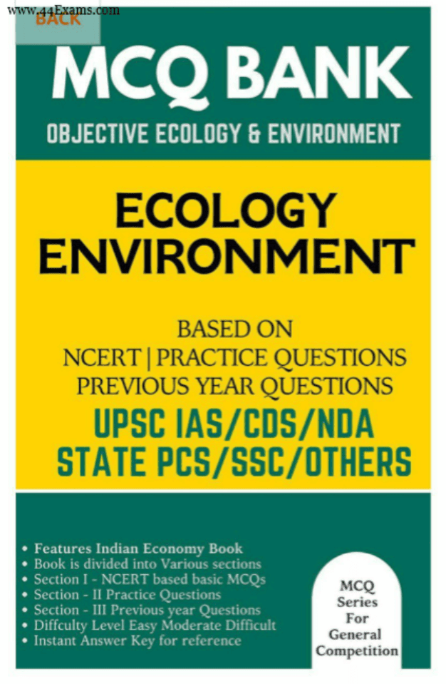 Ecology-and-Environment-MCQ-Bank-For-All-Competitive-Exam-PDF-Book