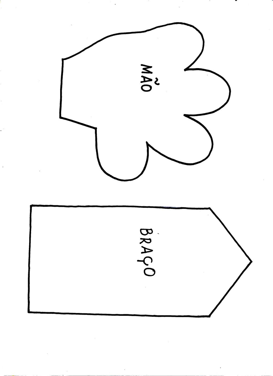 Eu Amo Artesanato Fantoche Bem Facil De Fazer Passo A Passo Com Molde