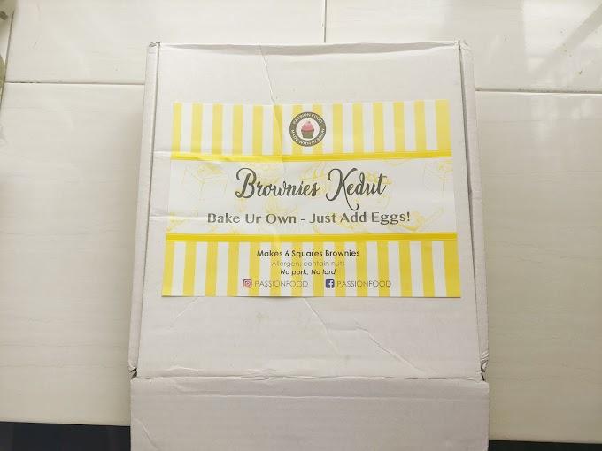 Mudahnya buat Brownies Kedut dengan Bake Ur Own Brownies Kedut keluaran Passion Food JB