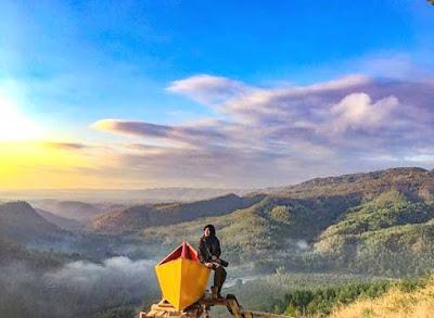 Bukit Panguk Kediwung, Rute, Wahana & Tiket Terbaru 2020