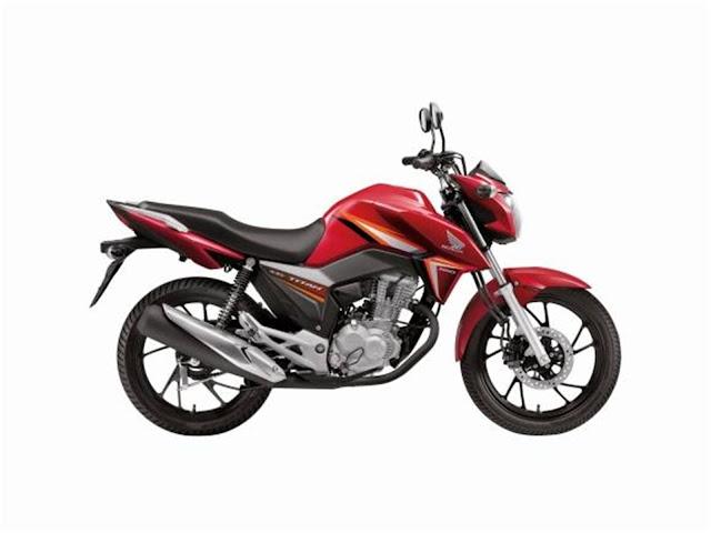 Honda CG 160 Titan 2017 - Vermelha