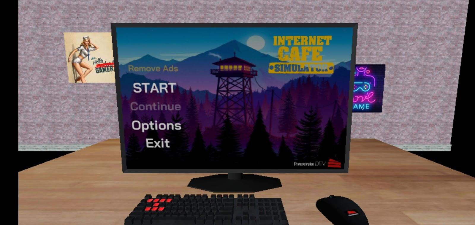Download Internet Cafe Simulator Mod Apk (Unlimited Money ...