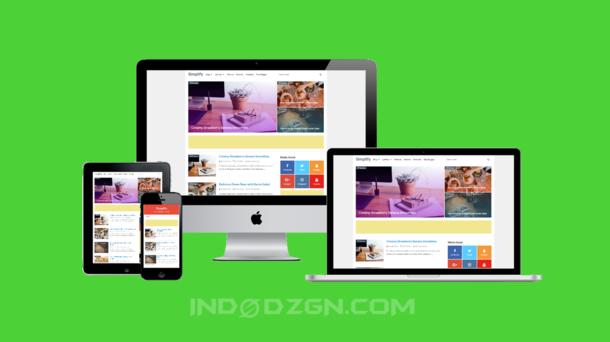 Simplify 2 Premium Blogger Template