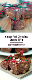 This easy no bake ginger and chocolate orange tiffin tastes fantastic and is great as a homemade gift, Perfect for a teachers gift and one bite will leave you wanting more.
