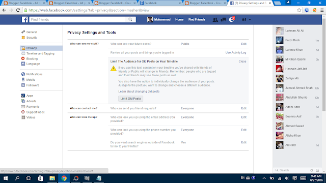 Facebook Privacy Settings 10