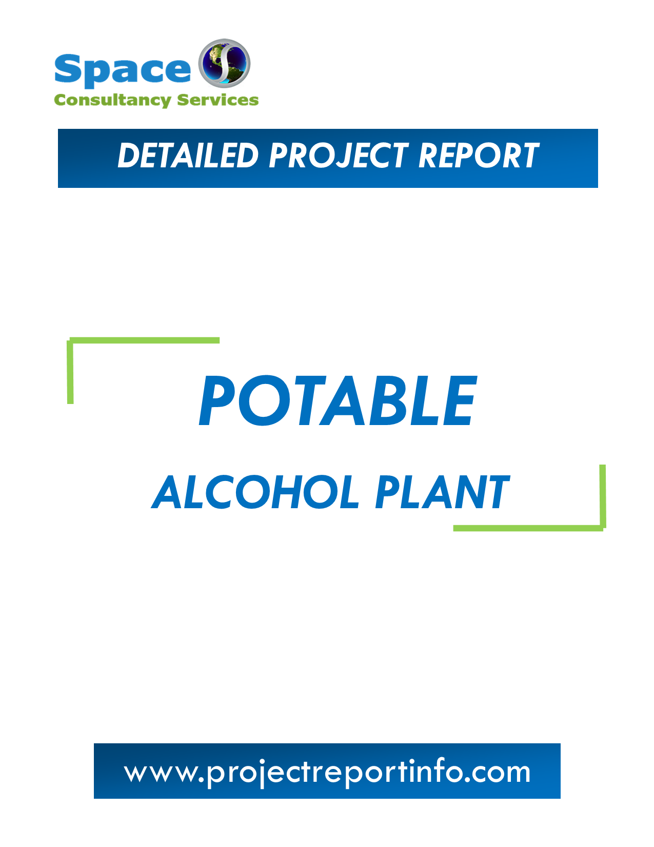 Project Report on Potable Alcohol from Grains Plant
