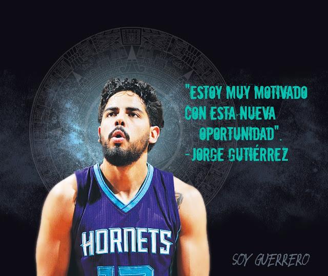 Jorge Gutiérrez NBA Hornets