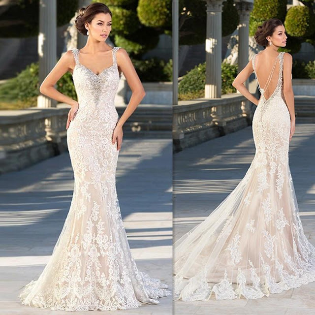 wedding dresses mermaid Image