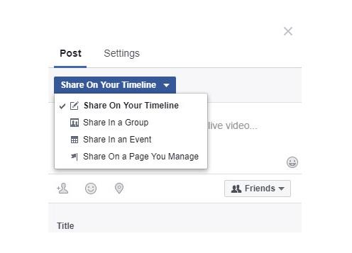 Live Stream Facebook trên Máy tính Group, Fanpage hiệu quả nhất