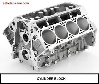 komponen utama engine (mesin)