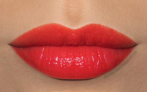Giorgio Armani Ecstasy Shine Lipstick 300 Play Swatch