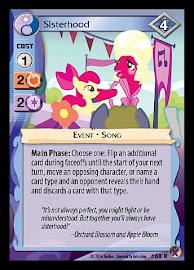 My Little Pony Sisterhood Marks in Time CCG Card