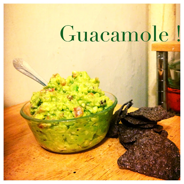 6 ingredient guacamole, eating fabulously, christopher stewart