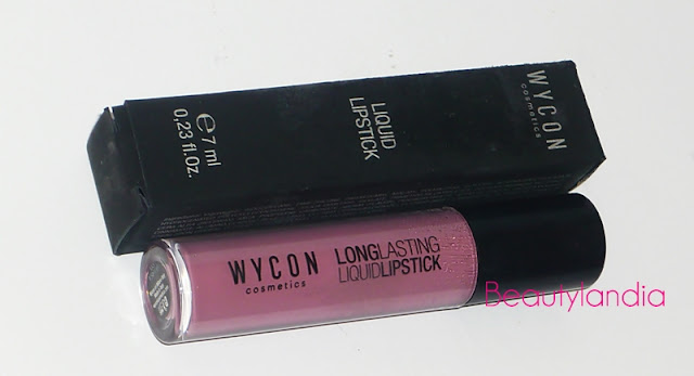 WJCON  Long lasting liquid lipstick 03 rosa antico