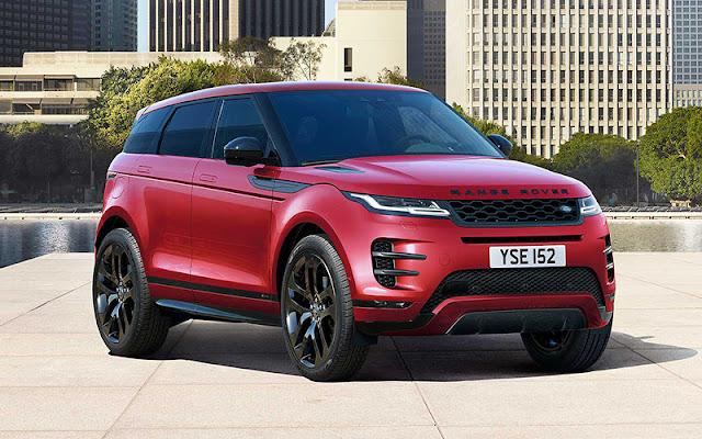 Range Rover Evoque với các tính năng hỗ trợ sẽ đảm bảo an toàn cho khách