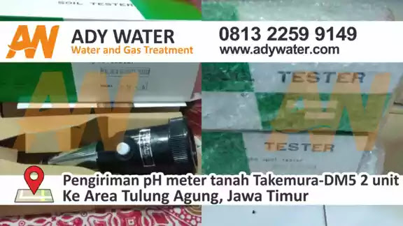 Harga pH Meter Tanah Murah,