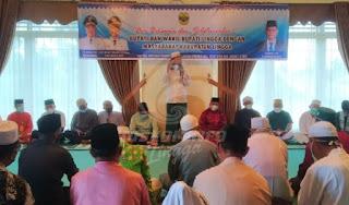Jalin Silaturrahmi Bupati dan Wakil Bupati Lingga adakan Do'a Bersama