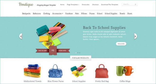 Daftar Koleksi Gratis Template Blogger untuk Toko Online 5+ Daftar Koleksi Gratis Template Blogger untuk Toko Online