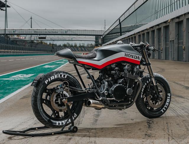 Honda CBX750 By Motocrew Hell Kustom