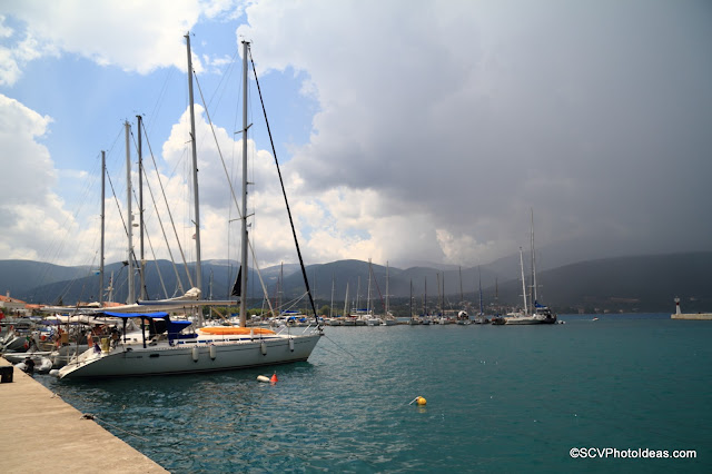 Sami Port storm coming