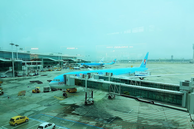 Korea Air at the Terminal 2, Incheon International Airport