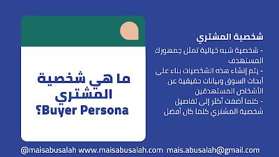 ما هي شخصية المشتري Buyer Persona