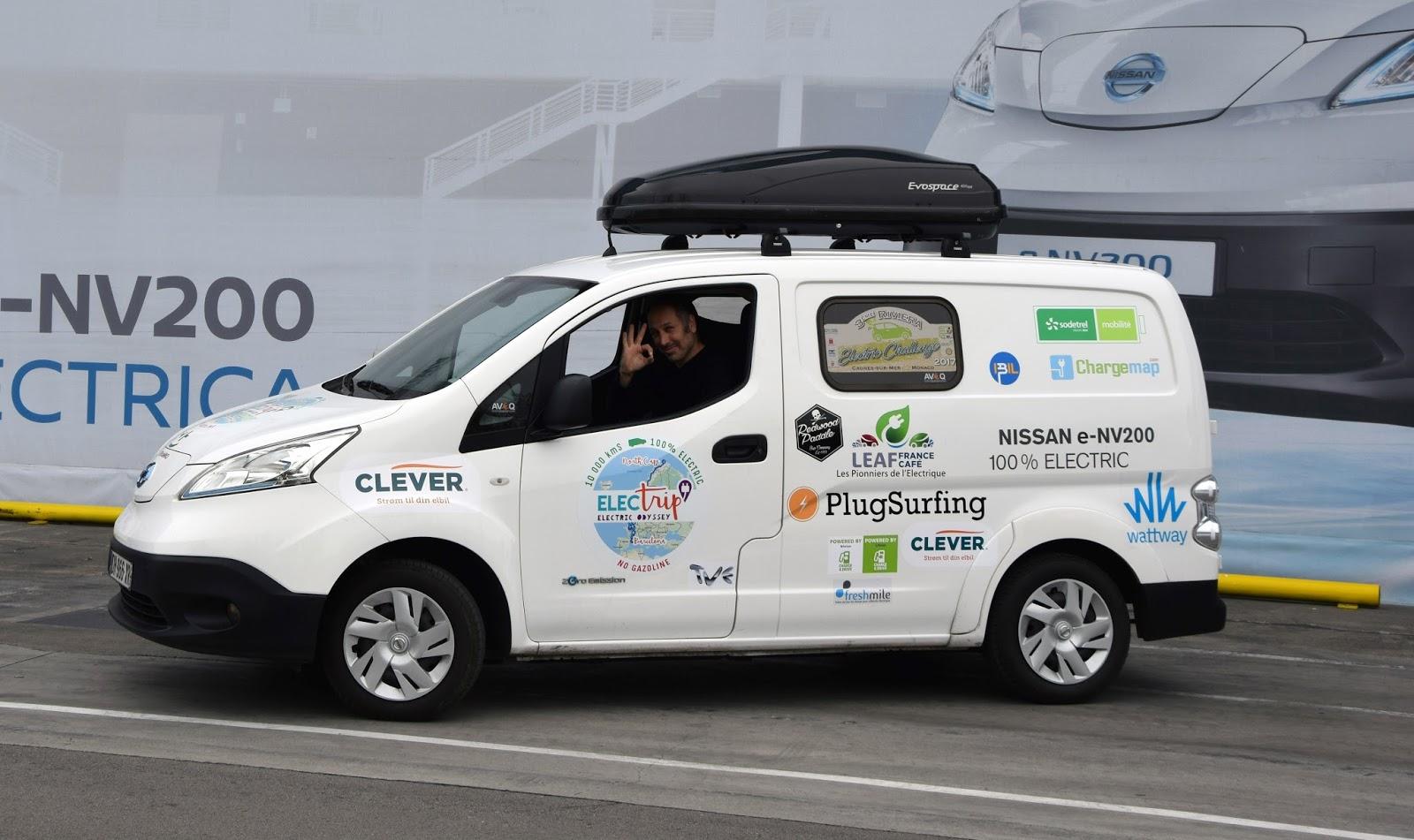 Ευρωπαϊκή περιοδεία 10.000 χιλιομέτρων για το ηλεκτροκίνητο Nissan e-NV200
