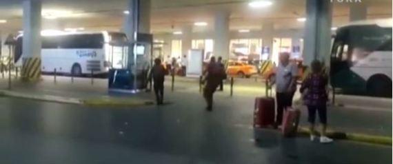 لحظة الانفجار في مطار أتاتورك في اسطنبول  attack at the Istanbul