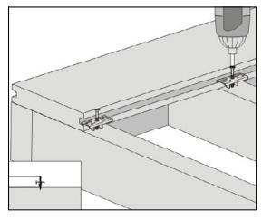 gambar pemasangan papan kayu komposit - 3