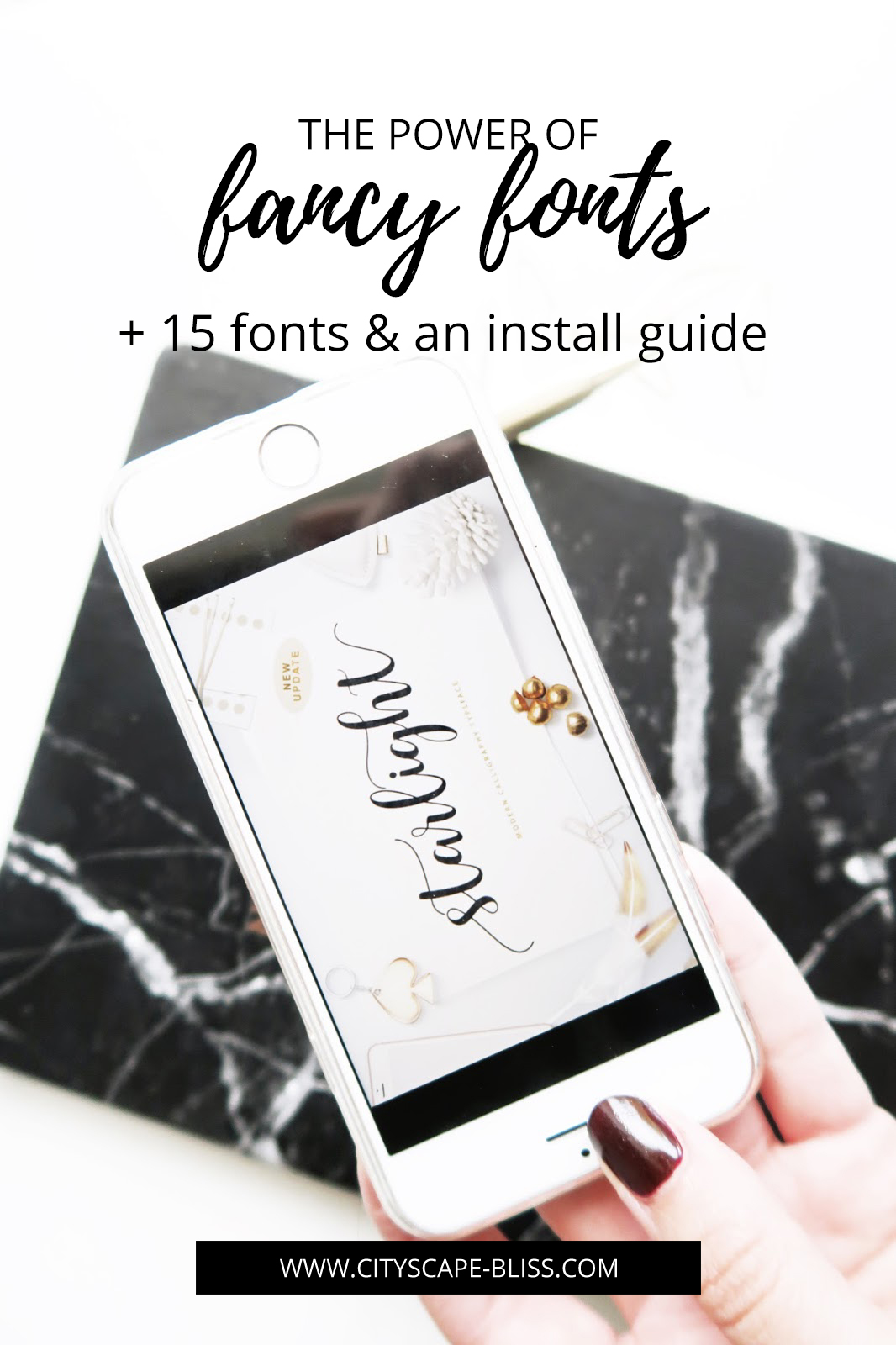 The power of fancy fonts (15 fonts & an install guide)