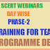 AP SCERT WEBINARS DAY WISE PHASE-2 CLEP TRAINING FOR TEACHERS LIVE PROGRAMME DETAILS