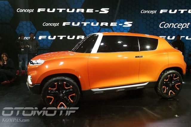 Model konsep Suzuki Future-S mendebut di Delhi Auto Expo
