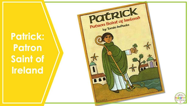 Are you looking for St. Patrick's Day Books you can share with your upper elementary students? Patrick: Patron Saint of Ireland is a perfect book to share with your 4th and 5th graders.