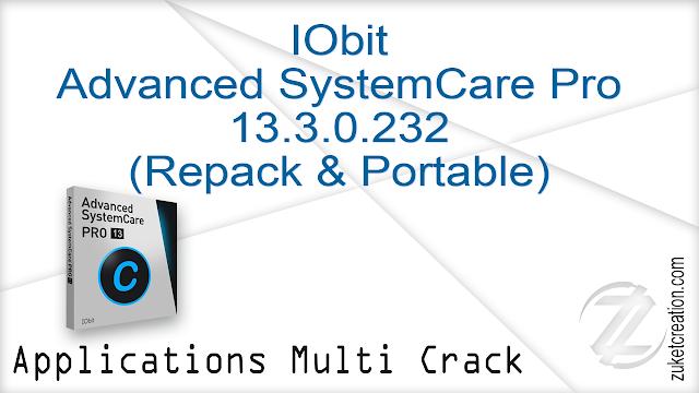 IObit Advanced SystemCare Pro 13.3.0.232 (Repack & Portable)