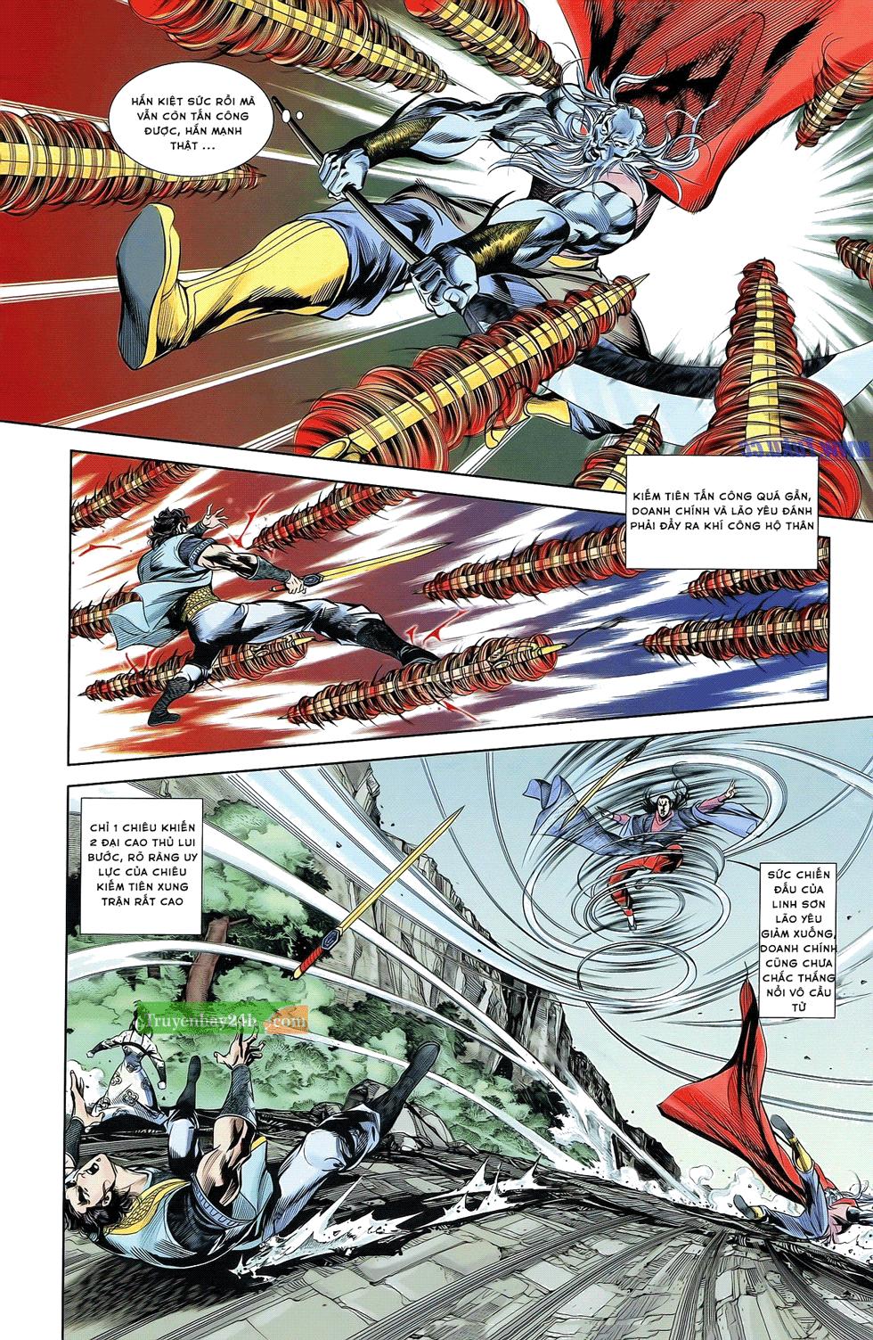 Tần Vương Doanh Chính chapter 21 trang 11