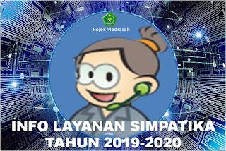info layanan simpatika tahun 2019-2020