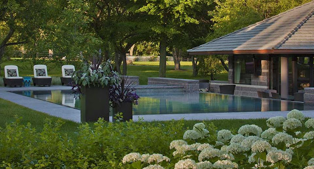 Amazing Garden Design with Outdoor Pool Landscaping Ideas