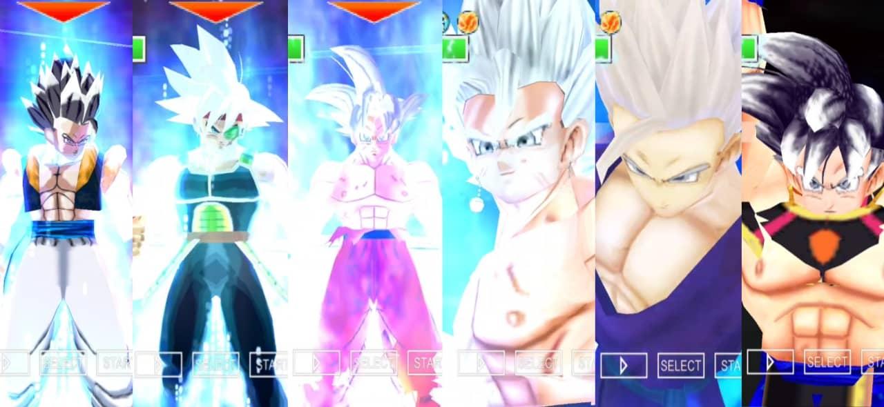 Dragon Ball Super All Characters Ultra Instinct