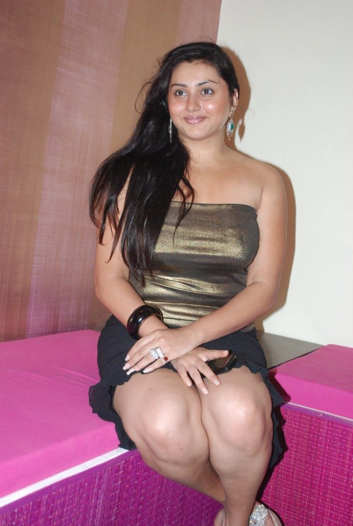 Namitha Kapoor Hot In Short Outfit
