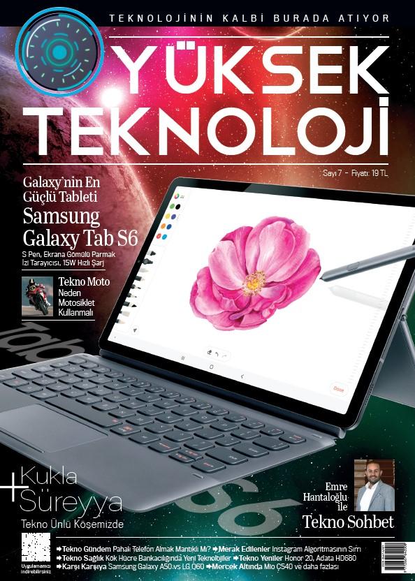 Yüksek Teknoloji Eylül 2019 PDF indir