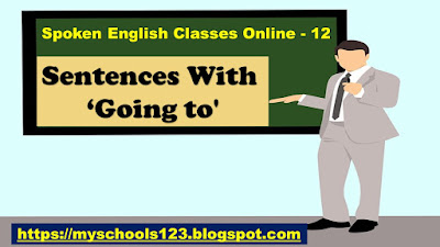 Sentences With 'going + to'