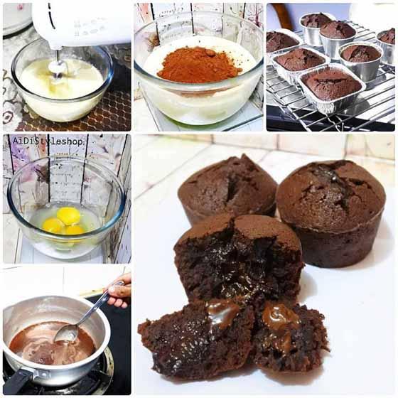 Rindu Cake Cokelat Yg Moisttt, dan Nyoklaat Banget. Apalagi Hujan Gini, pengennya Ngunyah Terus, Yuk di Coba Yg ChocolatLovers