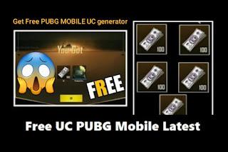 احصل على شدات ببجي مجانا غير محدودة من خلال PUBG Mobile UC generator